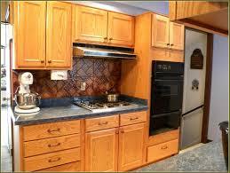 wood elite plus plain door chestnut kitchen cabinets knobs