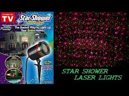 as seen on tv christmas lights as seen on tv shower laser light review demo