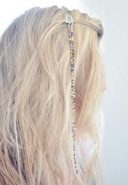 hair beading 19 ways to make fantastic diy hair accessories diy hair