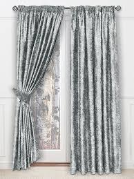 Grey Metallic Curtains Talpa Titanium Blue Curtains The Warming Silver Grey Metallic