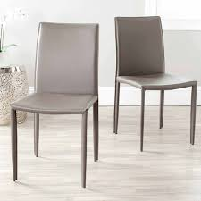 furniture impressive safavieh leather dining chairs images