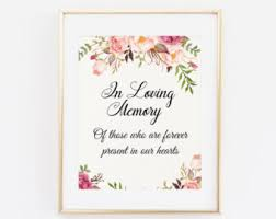 in loving memory wedding wedding sign in loving memory loving memory sign