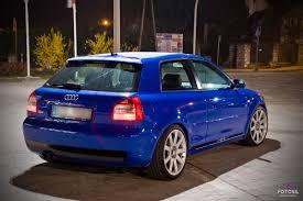 8l audi s3 automotive photography by yez audi s3 8l nogaro blue 1 8t amk quattro