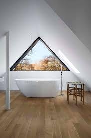 triangular attic window in victorian edwardian renovation in