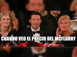 Hugh Jackman Meme - los mejores memes de la cara de hugh jackman cuando perdi祿 en los