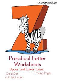free preschool letter worksheets z for kids preschool letter