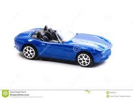 blue toy car stock photo image 30680310