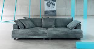 contemporary sofa leather 2 seater 3 seater cloud atlas by