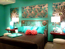 Brown And Blue Home Decor Bedroom Ravishing The Awesome Brown And Turquoise Living Room