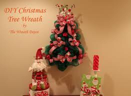 christmas mesh ribbon make a mesh ribbon christmas tree christmas lights decoration