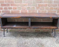 Media Console Table Console Tables U0026 Cabinets Etsy