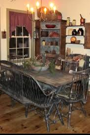 Primitive Dining Room Tables 3217 Best U2022 Colonial Gatherings U0026 Cloches U2022 Images On Pinterest