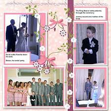 wedding scrapbook page wedding scrapbook page ideas layouts shower black and white