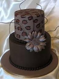 delicious brown wedding cakes