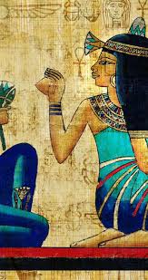 egyptian wallpaper for mac an ancient egyptian papyrus drawing hd wallpaper