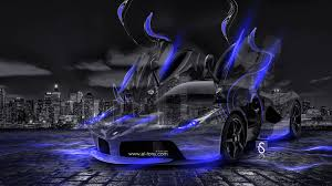 blue ferrari wallpaper laferrari fantasy crystal city energy car 2014 el tony