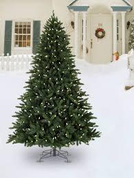 allegheny evergreen outdoor artificial tree balsam hill