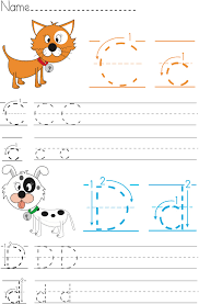 writing worksheet for kids it u0027s writing practice for children