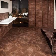 Gloss Tile Effect Laminate Flooring Bronze Floor Gloss Tiles Look Tiles 450x450x9mm Tiles