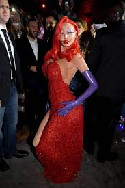 Halloween Costume Jessica Rabbit Heidi Klum Hidden Jessica Rabbit Halloween Costume Heidi Klum