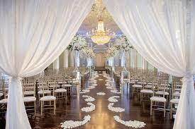 white silver gold wedding at the biltmore ballrooms in atlanta
