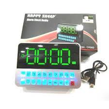 sveglia comodino orologio radio sveglia da comodino 562 digitale allarme lcd radio f