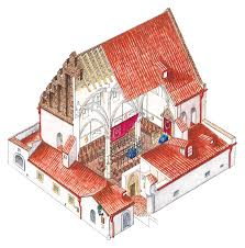 old new synagogue illustration dk eyewitness travel