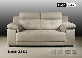 Sofa Casa Leather Casa Italy Leather Sofa F 3261 F 3261