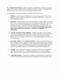 graduate school resume template graduate school resume template fresh cv template graduate school