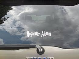 hogwarts alumni bumper sticker 505 best my store images on vinyl decals wall decals
