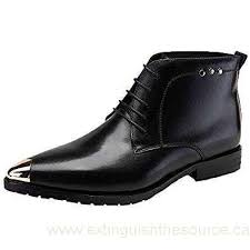 s leather dress boots canada santimon s dress boots leather monks buckle ankle pointed toe