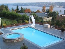 who makes the best fiberglass pool aquaserv pool spa inc the 25 best rectangle pool ideas on small pools