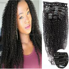 Mongolian Curly Hair Extensions by Gloryhair 100 Human Hair Afro Curly Clip In Hair Extensions