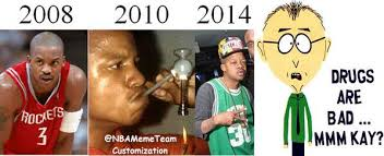Crack Cocaine Meme - nba meme team on twitter drugs are bad m kay what 6 years of