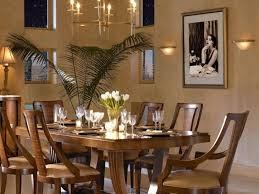 Art Deco Dining Room Set by Art Deco Dining Table And Chairs Round Black Stained Wooden Dining