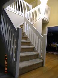 Banister Replacement Wood Stairs And Rails And Iron Balusters January 2016