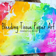 where to buy bleeding tissue paper sowdering about painting without painting bleeding tissue paper