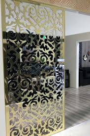 Decorative Wall Dividers Room Dividers Doors Interior Baroque Wall Divider Laser Cut Screen