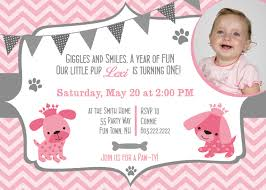 dog birthday party invitations puppy dog party invites 1st