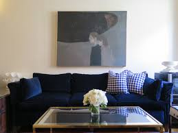 Navy Blue Leather Sofas by Blue Velvet Couch Loccie Better Homes Gardens Ideas