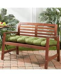 green bench cushion amazing deal greendale home fashions 51 inch outdoor summerside