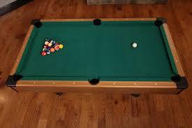 Pool Table Dimensions by Mizerak Dynasty Space Saver 6 5 U0027 Billiard Table Walmart Com