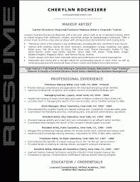 Makeup Artistry Certification Online Resume For Makeup Artist For Mac Free Resume Example And Writing