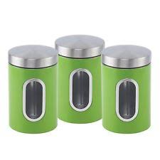 stainless steel vintage retro kitchen canisters u0026 jars ebay