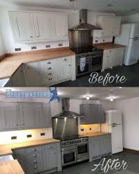 professional kitchen cabinet painting cost uk spraying kitchen cabinets amazing transformations