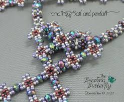 bead diamond necklace images Romantique diamond necklace beading tutorial digital etsy jpg