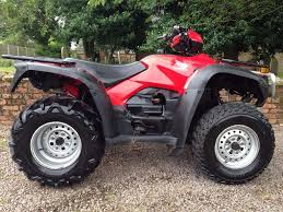 honda trx 500 foreman road legal 4x4 quad atv 420 450 350 polaris