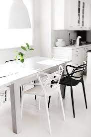 Modern Black And White Dining Table 124 Best Black U0026 White Interiors Images On Pinterest Home Live