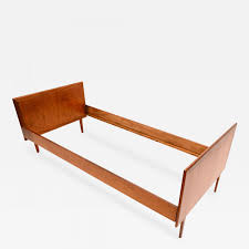 Twin Bed Danish Modern Teak Single Twin Bed Mid Century Period In The