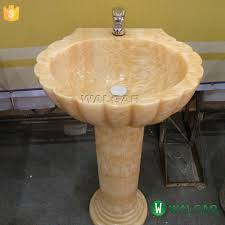 Onyx Pedestal Sink Stone Pedestal Sink Stone Pedestal Sink Suppliers And